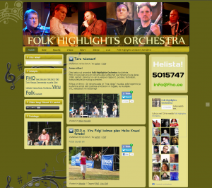 Folk Highlights Orchestra koduleht